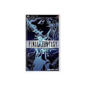 Final Fantasy - Usado - PSP
