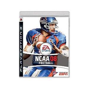 NCAA 08 Football - Usado - PS3