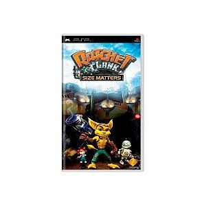 Ratchet & Clank Size Matters (Sem Capa) - Usado - PSP