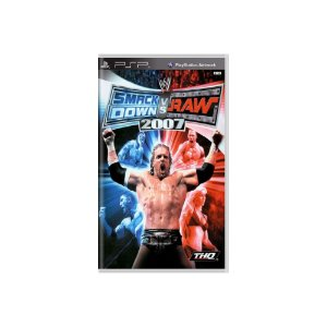 Smack Down Vs Raw 2007 - Usado - PSP