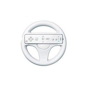 Volante para Nintendo Wii Branco - Usado - Wii
