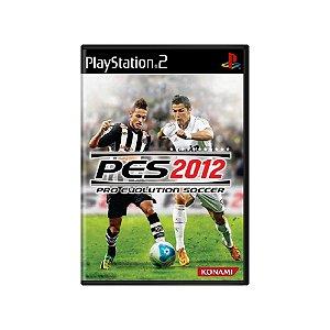Pro Evolution Soccer 2012 (PES 2012) - Usado - PS2