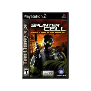 Tom Clancy's Splinter Cell Pandora Tomorrow - Usado - PS2