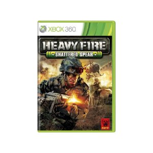 Heavy Fire Shattered Spear - Usado - Xbox 360