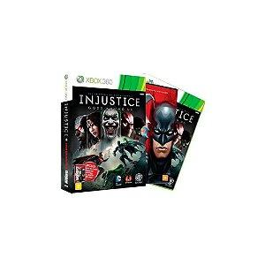 Injustice Gods Among Us + Filme Liga da Justiça - Usado - Xbox 360