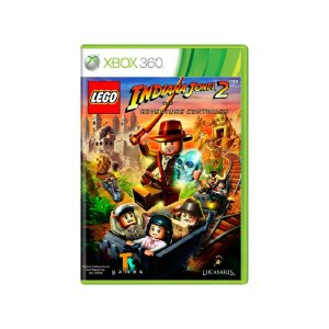 LEGO Indiana Jones 2 The Adventure Continues Usado Xbox 360