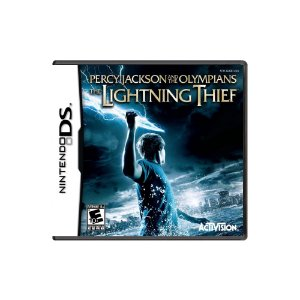 Percy J. And The Olympians Lightning Thief Sem Capa Usado DS