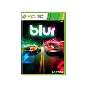 Blur - Usado - Xbox 360