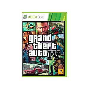 Grand Theft Auto IV (GTA IV) - Usado - Xbox 360