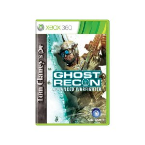 Tom Clancy's Ghost Recon Advanced Warfighter Usado -Xbox 360
