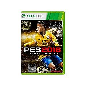 Pro Evolution Soccer 2016 (PES 16) - Usado - Xbox 360