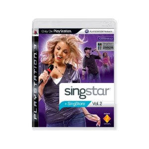 SingStar Vol. 2 - Usado - PS3