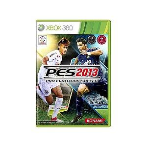 Pro Evolution Soccer 2013 (PES 2013) - Usado - Xbox 360