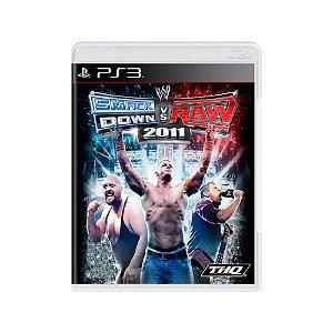 Smack Down vs Raw 2011 - Usado - PS3