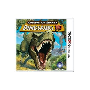 Combat of Giants Dinosaurs 3D (Sem Capa) - Usado - 3DS