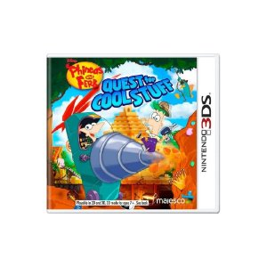Phineas and Ferb Quest for Cool Stuff Sem Capa - Usado - 3DS