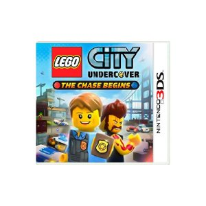 LEGO City Undercover The Chase Begins Sem Capa - Usado - 3DS