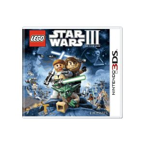 Lego Star Wars III The Clone Wars (Sem Capa) - Usado - 3DS