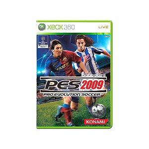 Pro Evolution Soccer 2009 - Usado - Xbox 360