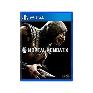 Mortal Kombat X - Usado - PS4