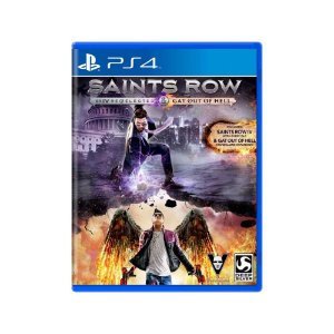 Saints Row IV Re-Elected + Gat out of Hell - Usado - PS4