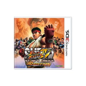 Super Street Fighter IV 3D Edition (Sem Capa) - Usado - 3DS