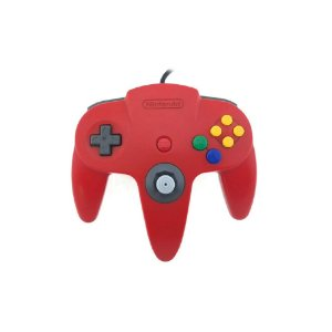 Controle Nintendo 64 Vermelho - Usado - Nintendo