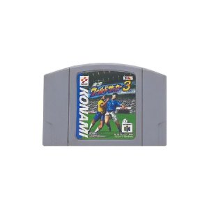 Jikkyou World Soccer 3 Superstar (JPN) - Usado - N64