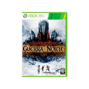 O Senhor dos Anéis Guerra no Norte - Usado - Xbox 360