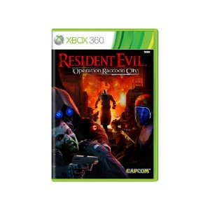 Resident Evil Operation Raccoon City - Usado - Xbox 360