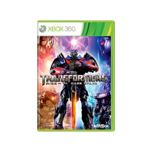 Transformers Rise of The Dark Spark - Usado - Xbox 360
