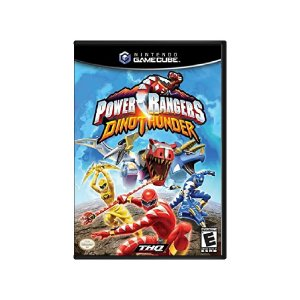 Power Rangers Dino Thunder - Usado - GameCube