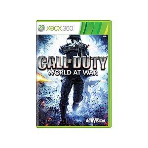 Call of Duty World at War - Usado - Xbox 360