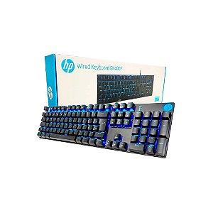 Teclado Gamer Mecânico HP GK400F