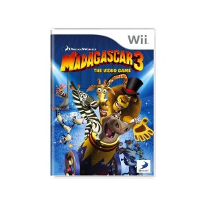 Madagascar 3 The Video Game - Usado - Wii