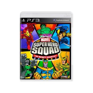 Marvel Super Hero Squad The Infinity Gauntlet - Usado - PS3