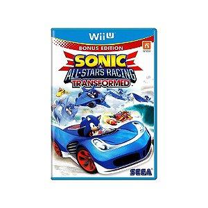 Sonic & All-Stars Racing: Transformed - Usado - Wii U