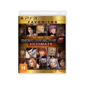 Dead or Alive 5 Ultimate - Usado - PS3