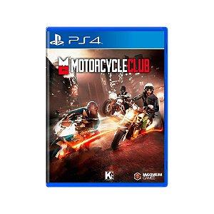 Motorcycle Club - Usado - PS4