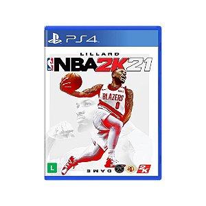 NBA 2K21 - Usado - PS4