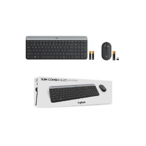 Teclado e Mouse Logitech MK470 Slim