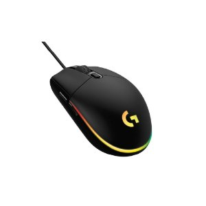 Mouse Gamer Logitech G203 LIGHTSYNC - Preto