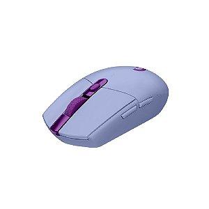Mouse Gamer Sem Fio Logitech G305 LIGHTSPEED - Lilás