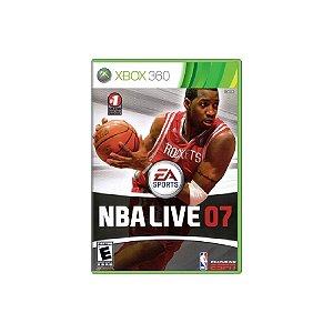 NBA Live 07 - Usado - Xbox 360