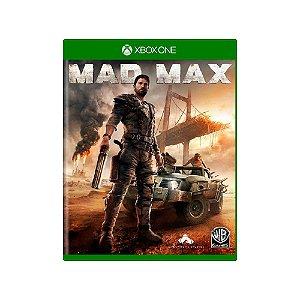 Mad Max - Usado - Xbox One