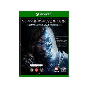 Terra Média: Sombras de Mordor (GOTY) - Xbox One