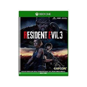 Resident Evil 3 - Usado - Xbox One