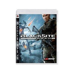 Blacksite Area 51 - Usado - PS3
