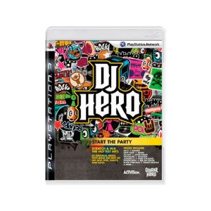 Dj Hero - Usado - PS3