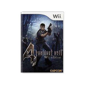 Resident Evil 4 - Usado - Wii